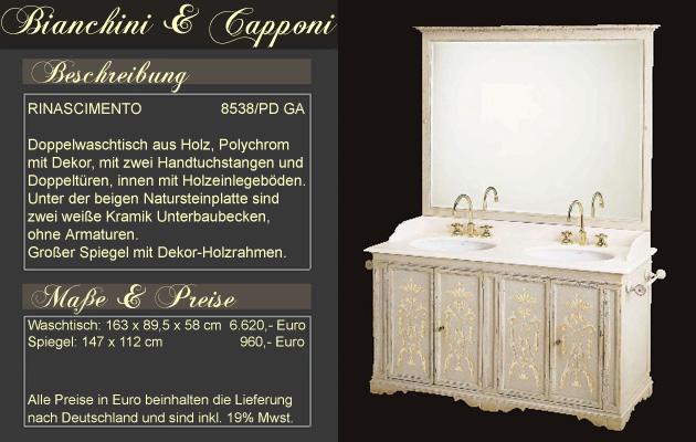 italienische badm bel mediterrane badezimmer von klassisch bis modern bianchini capponi. Black Bedroom Furniture Sets. Home Design Ideas